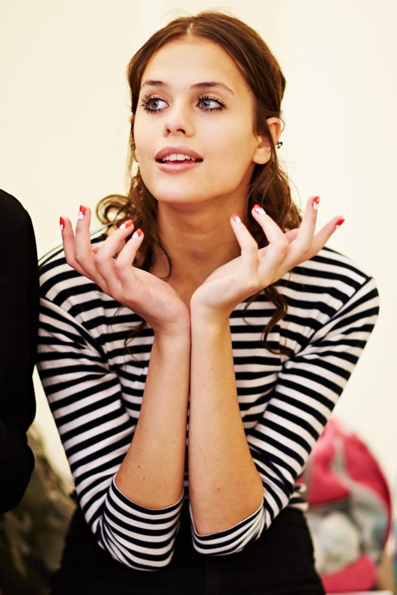 Backstage Milan Fashion week Au jour le jour's