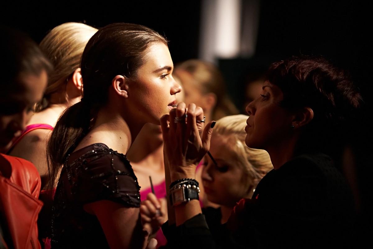 Miami fashion week_ make-up