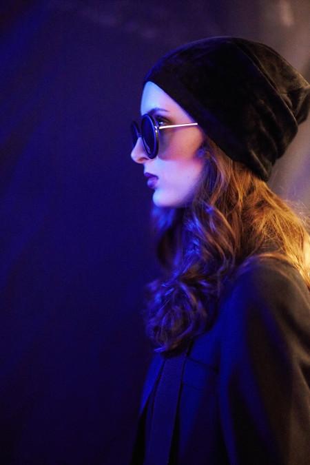Julia Dalakian backstage by Kozhin Alexander