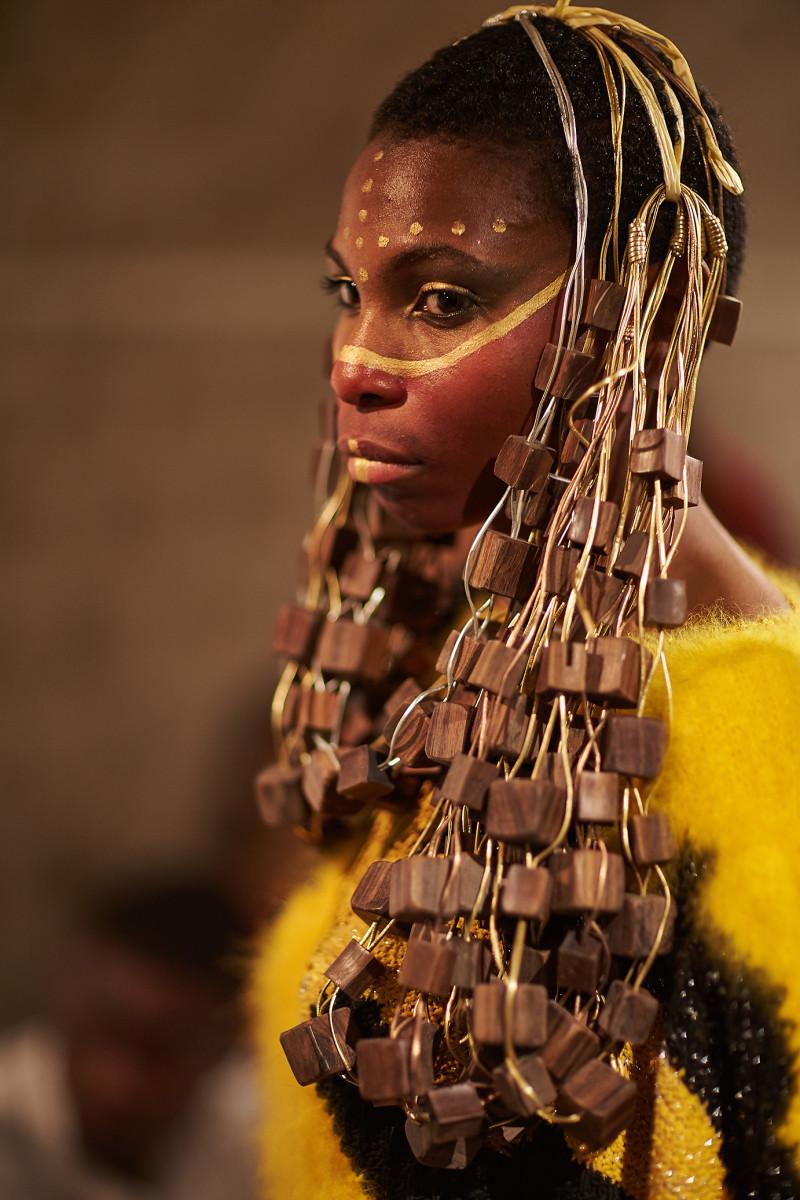 backstage Anggy Haif Paris Fashion week