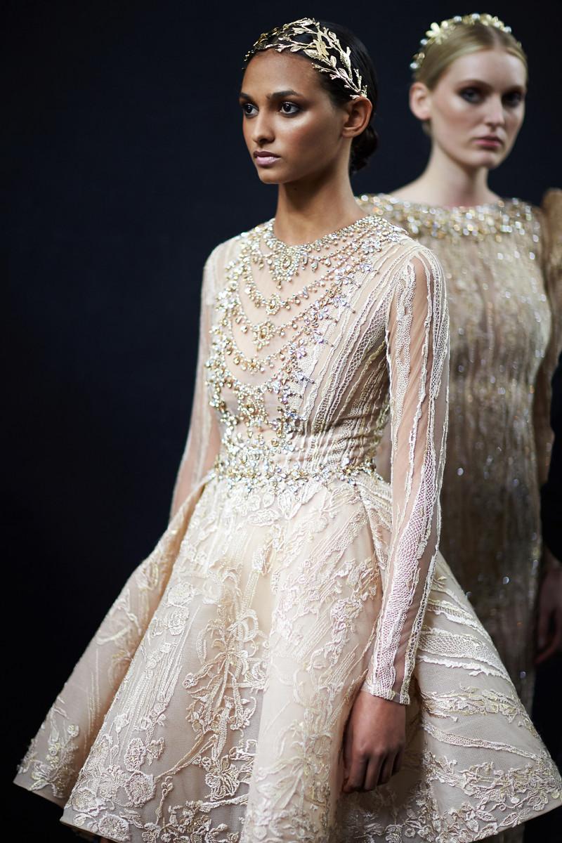 backstage Couturissimo Haute Couture Paris Fashion week