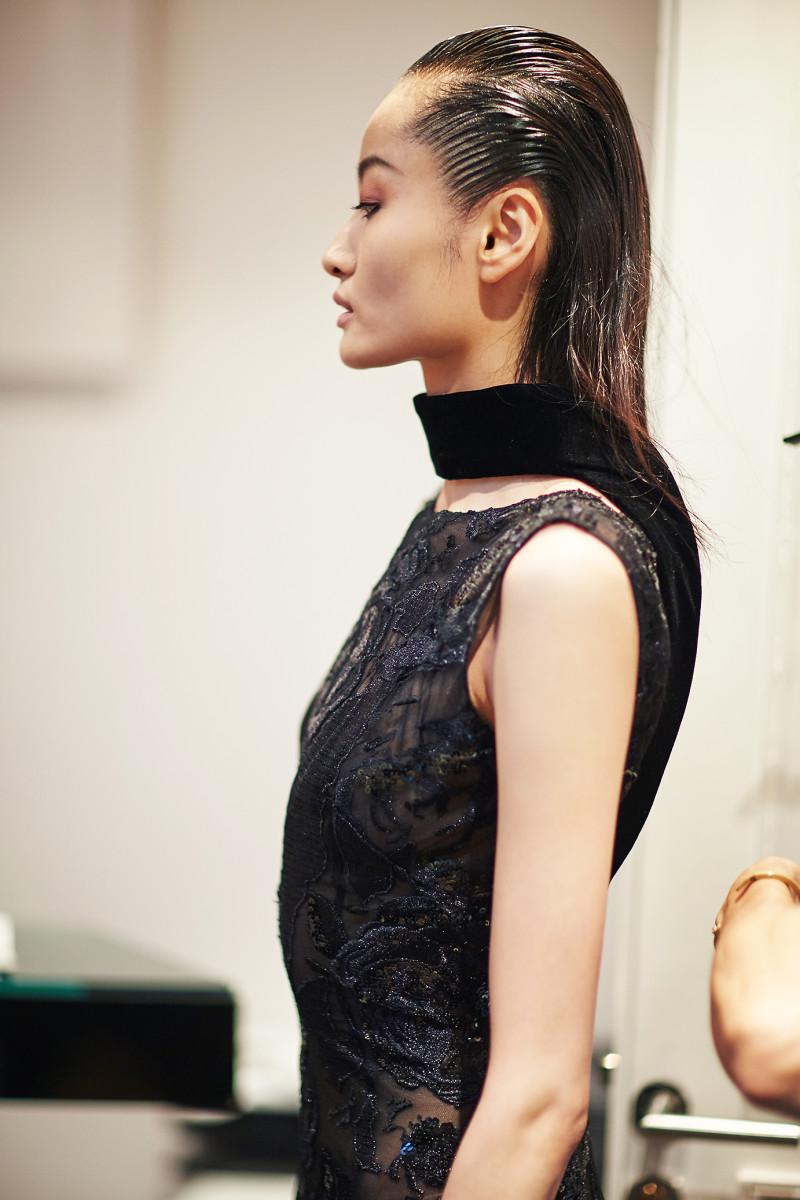 backstage Dany Atrache Haute Couture Paris Fashion week
