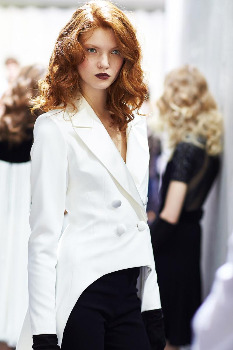 backstage Georges Chakra Haute Couture Paris Fashion week