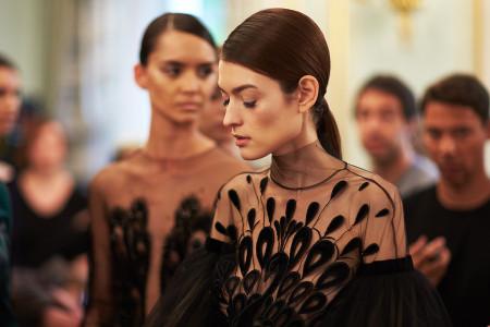 backstage Yanina Couture Haute Couture Paris Fashion week