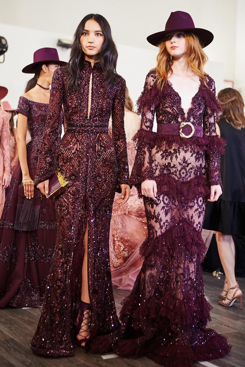 backstage Zuhair Murad Haute Couture Paris Fashion week