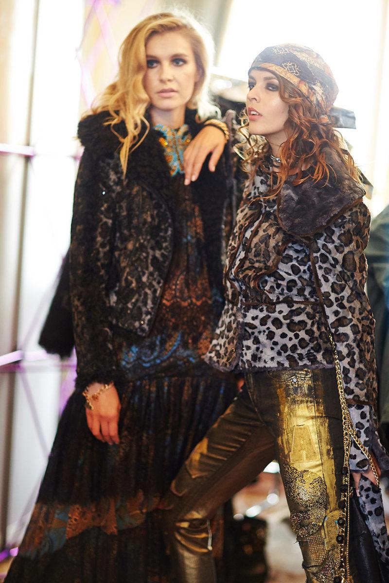 Ewa Minge Backstage Paris