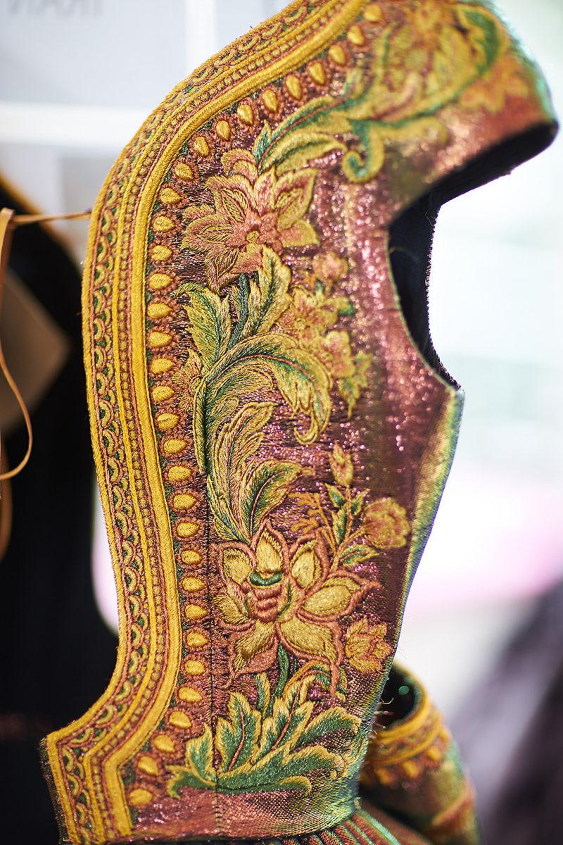 Guo Pei backstage Paris Haute Couture
