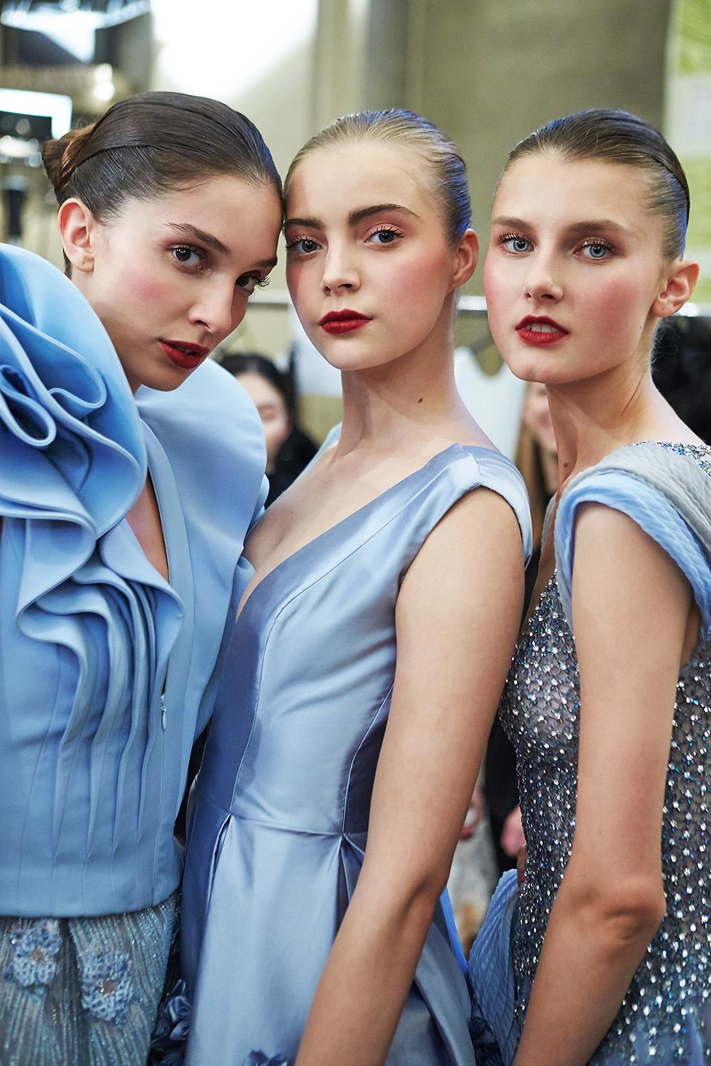 Tony Ward Backstage Haute Couture Paris