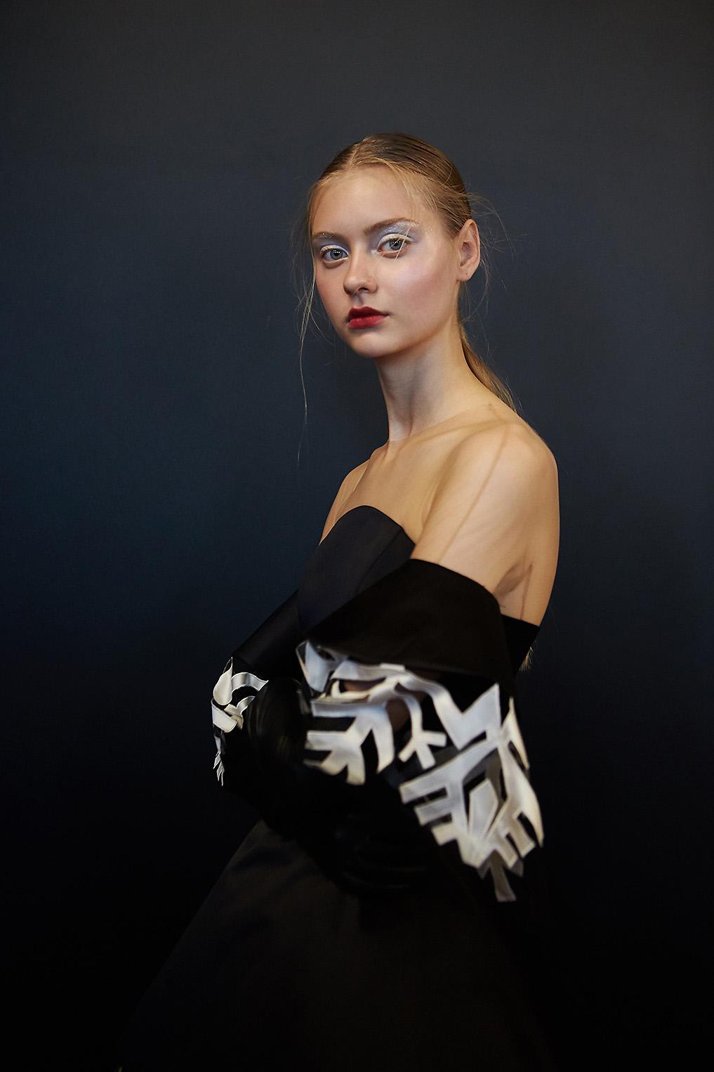 Yanina Couture backstage Haute Couture Paris