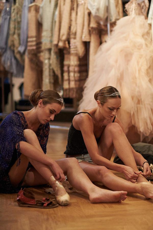 Backstage Eva Minge Haute Couture Paris Fashion week Fall-WInter 2018-2019