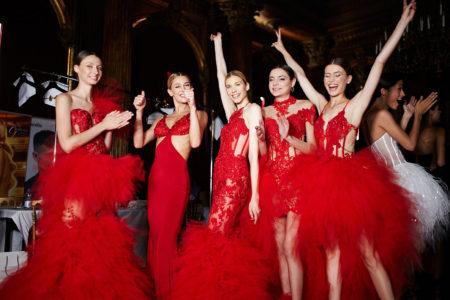 Backstage Eva Minge Haute Couture Paris Fashion week