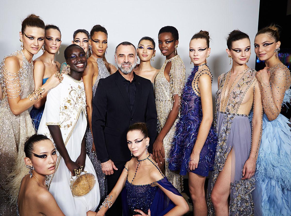 Backstage Georges Hobeika. Haute Couture Paris Fashion week. Fall Winter 2018-2019