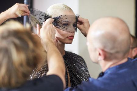 Georges Hobeika designer. Kozhin Alexander photographer backstage