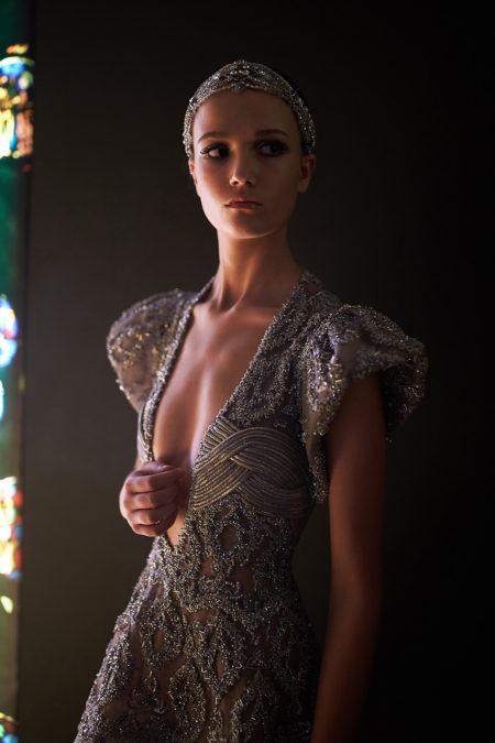 Backstage Tony Ward. Haute Couture Paris Fashion week. Fall Winter 2018-2019