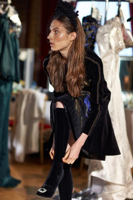 Backstage Yanina Couture. Haute Couture Paris Fashion week