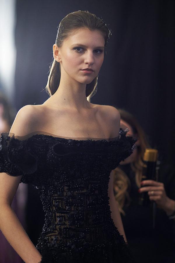 Tony Ward backstage photo by Alex Kozhin. Haute Couture Paris Fashion week. SS2020